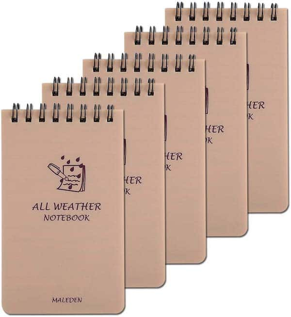 All Weather Notebooks