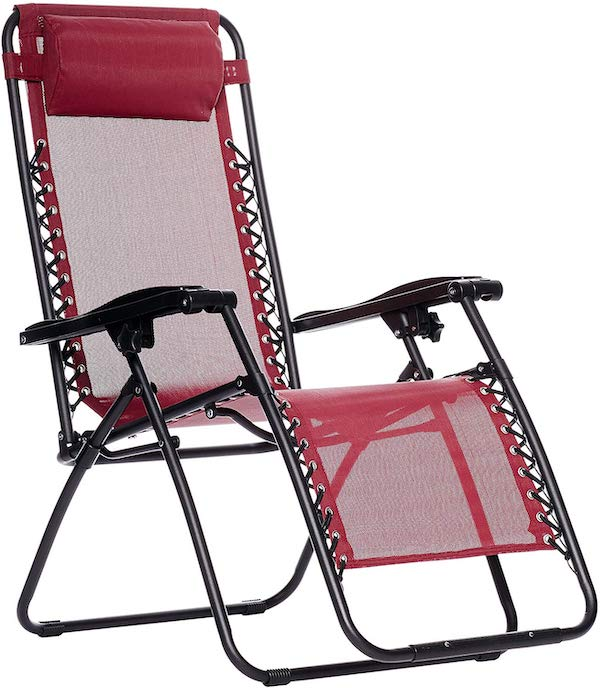 Amazon Basics Reclining Camp Chair