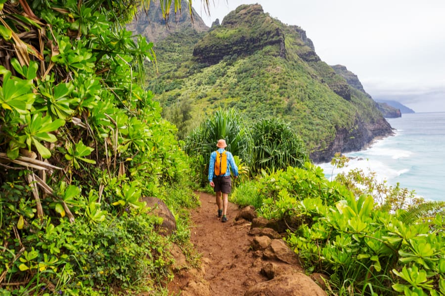 Backpacking in Hawaii