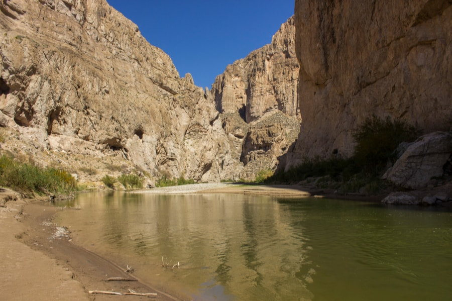 Boquillas Canyon in Big Bend National Park