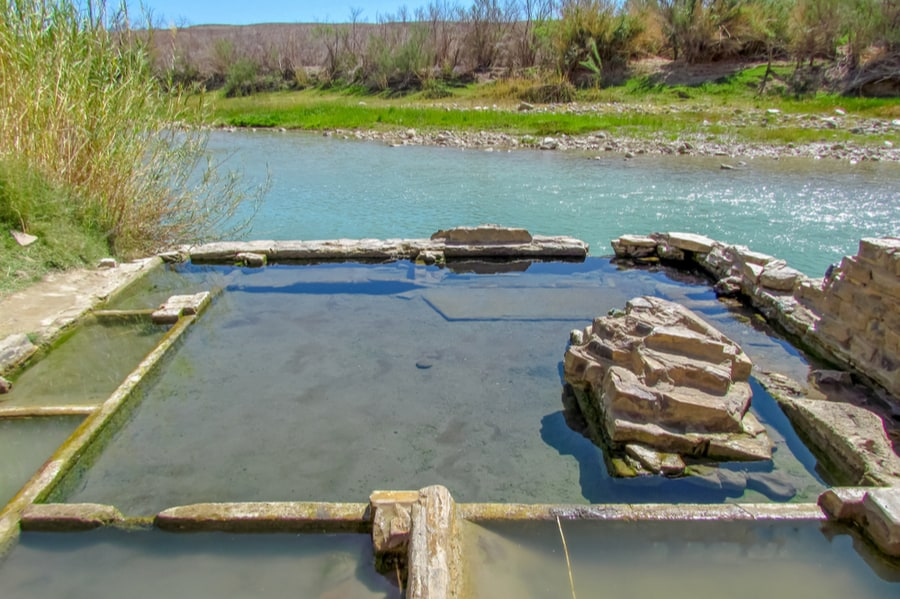 Boquillas Hot Springs in Big Bend National Park