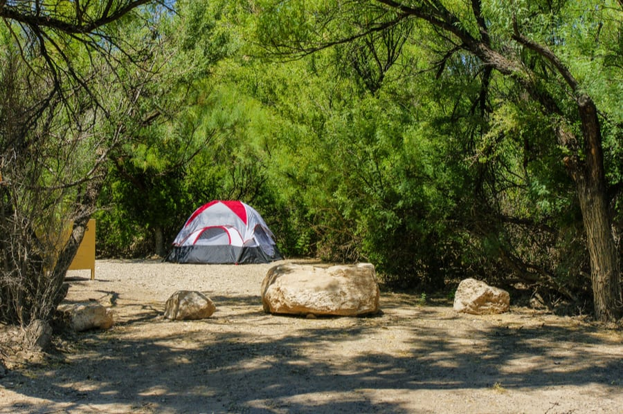 Rio Grande Village Campground in Big Bend National Park