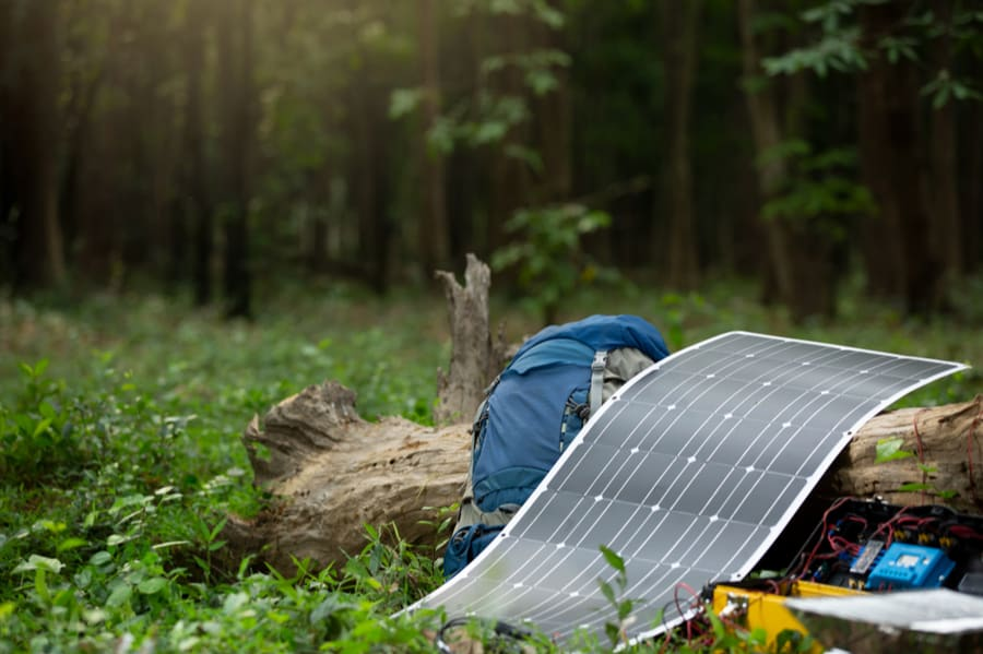 Best Solar Panel for Backpacking