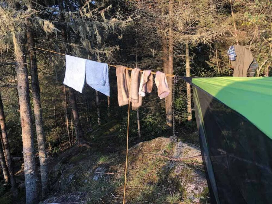 Camping Clothes Line