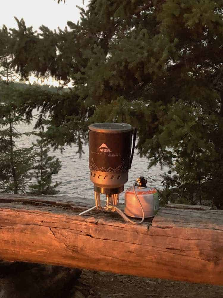 MSR Windburner Camping Stove Review 3