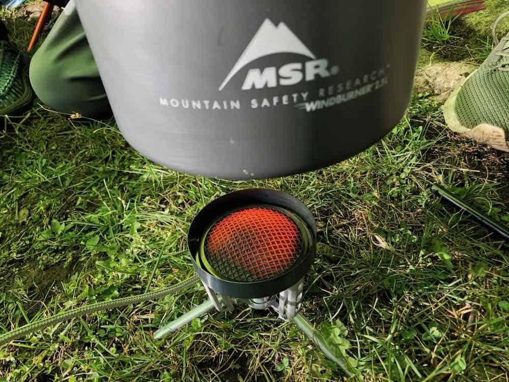MSR Windburner Camping Stove Review 2