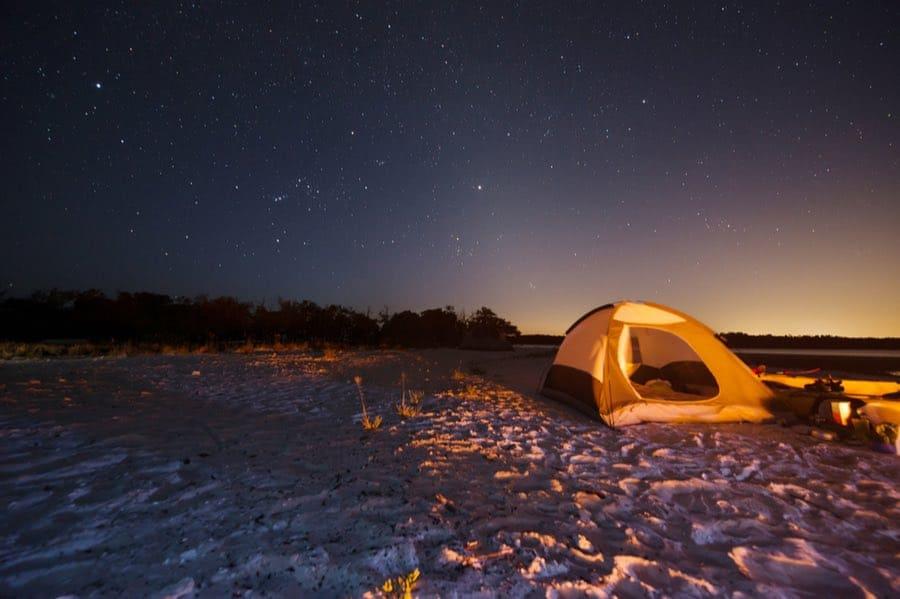 Florida Beach Camping