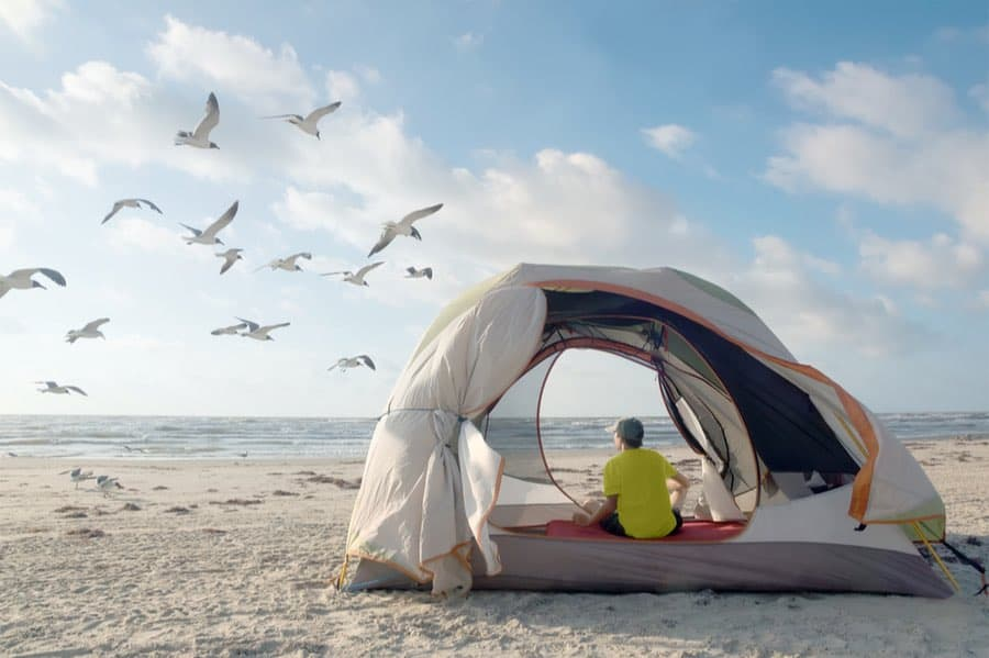Free Camping in Texas on the Beach