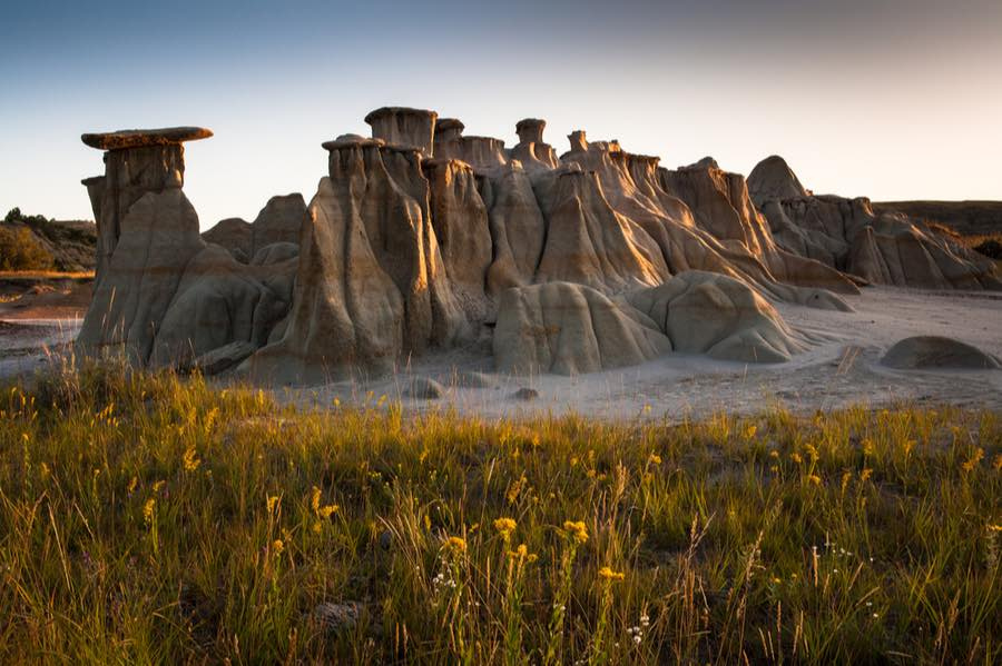 Hoodoos in Theodore Roosevelt National Park