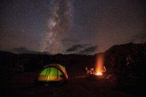 Dispersed Camping in the Desert