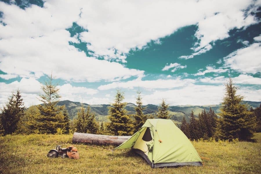 Dispersed Tent Camping in Montana
