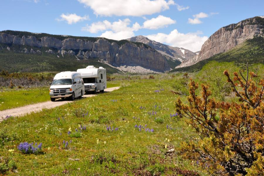 RV Camping in Montana
