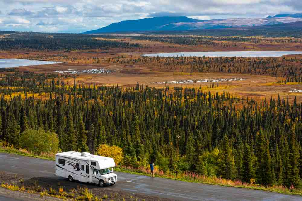 Rent a small RV to explore the great outdoors in comfort.