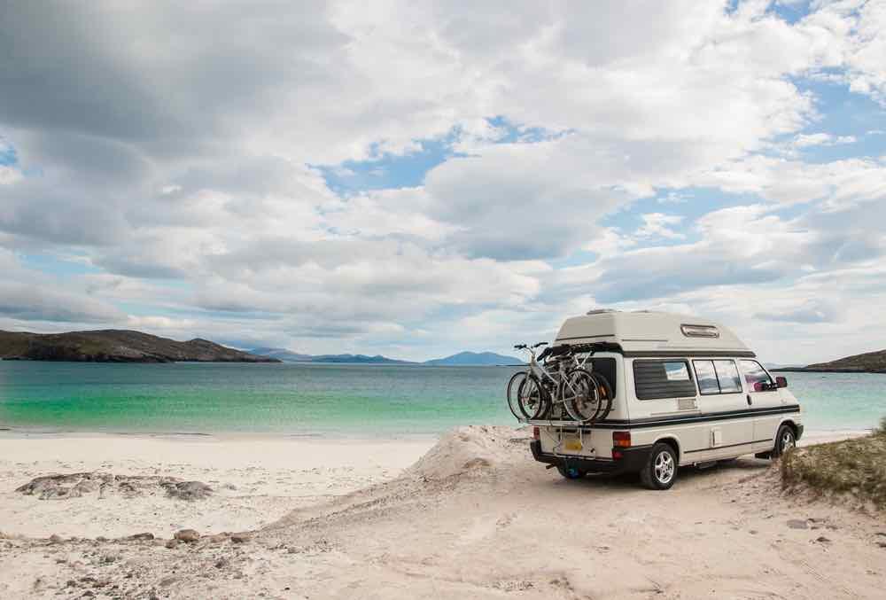 Van camping hacks transform every van model into a mobile campsite.