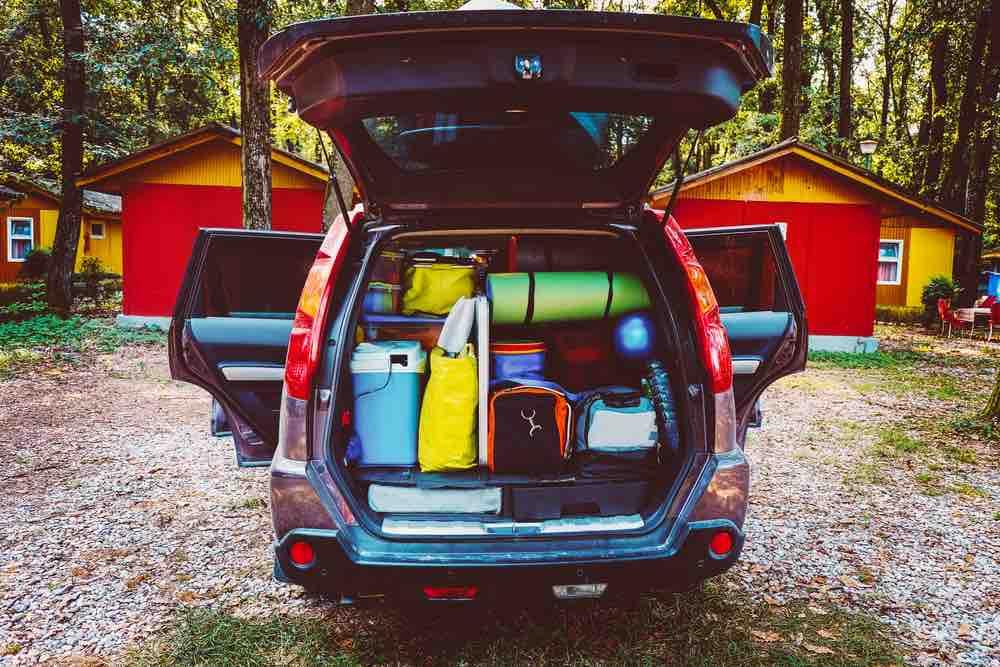 The best van camping hack is smart packing.