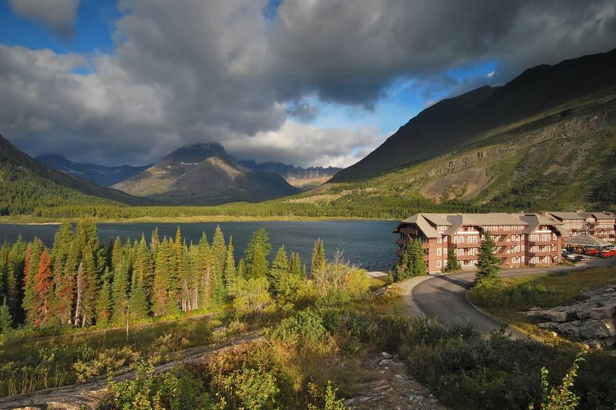 Hotel in Glacier National Park Montana