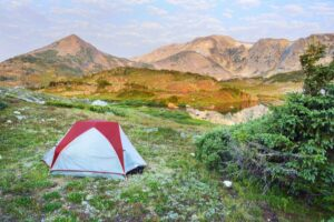Camping in Wyoming at Medicine Bow-Routt National Forest