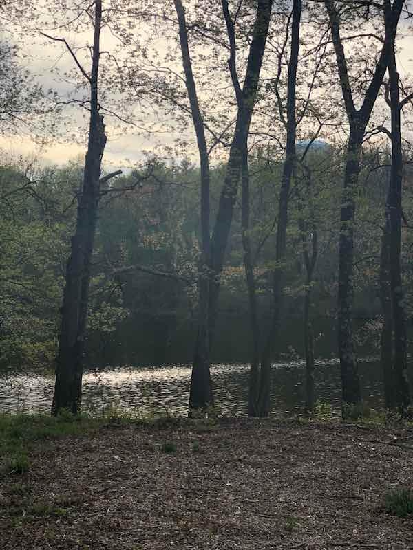 Echo lake in Burrillville, RI