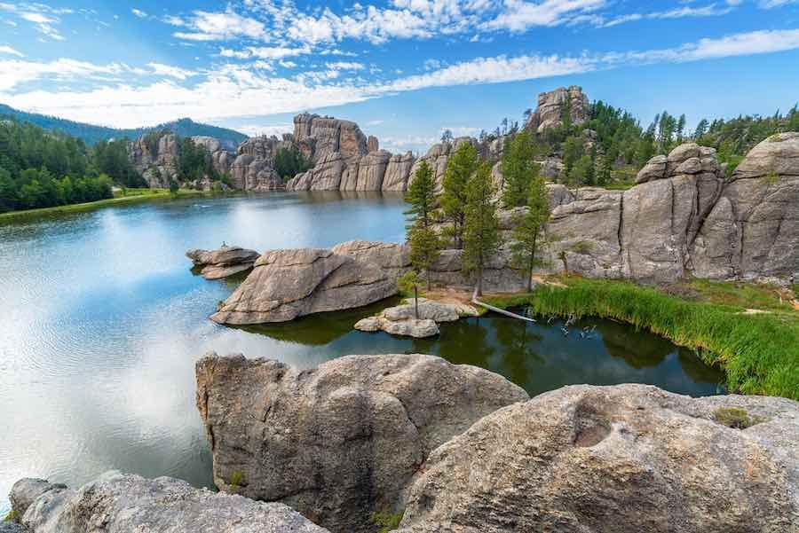 Camping in South Dakota: Sylvan Lake Campground
