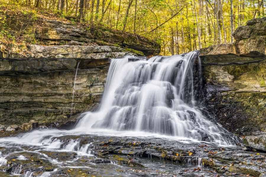 McCormick's Creek State Park in Indiana