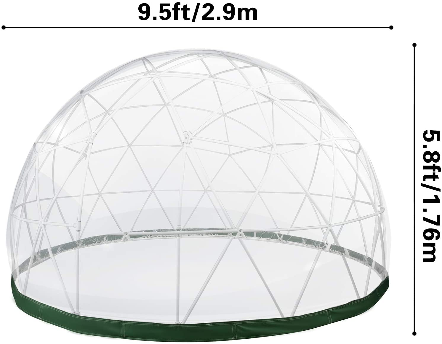 Patiolife Geodesic Garden Dome