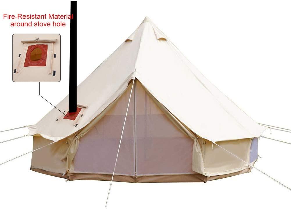Playdo 4-Season Canvas Bell Tent