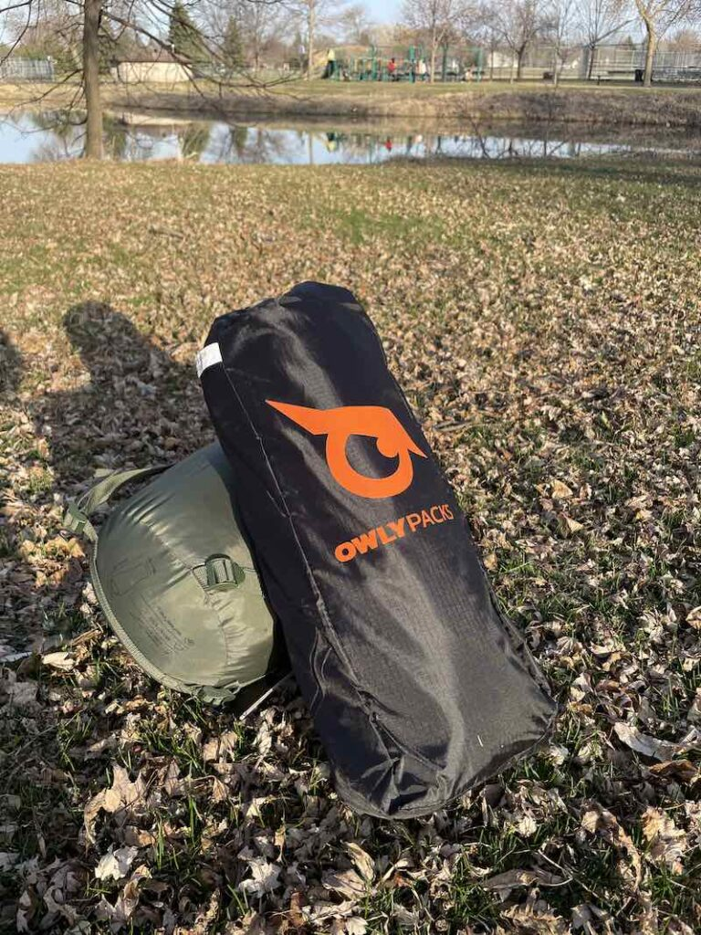 Owly Packs Hammock Tent Hybrid Review 2